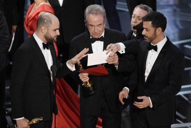 Die Panne vom Vorjahr soll bei der Oscar-Verleihung 2018 vermieden werden.