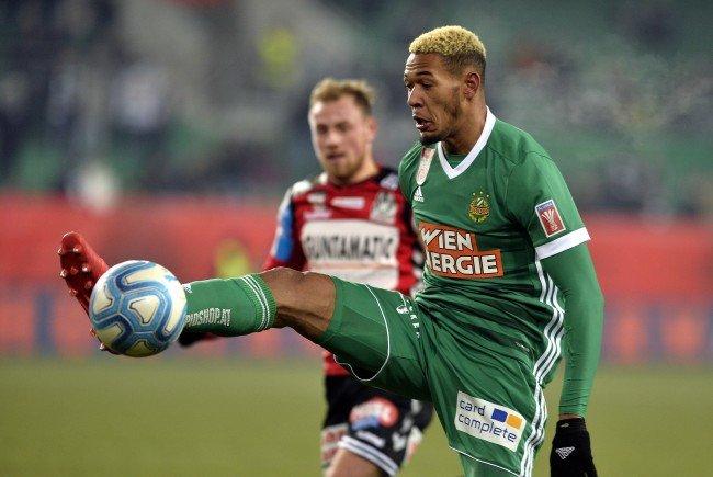 Rapid Wien siegte im ÖFB-Cup Viertelfinale mit 2:1 über Ried.