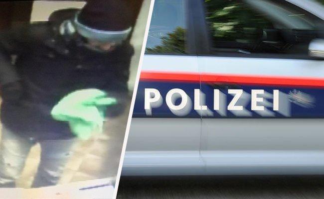 Ein Unbekannter überfiel am 13. Februar ein Geschäft in Biedermannsdorf mit einer Waffe.