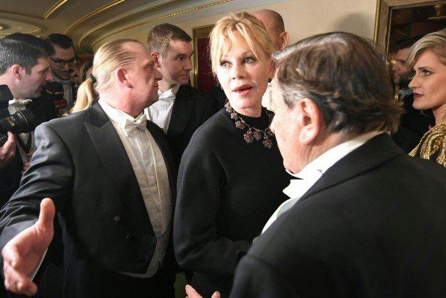 Richard Lugner schwärmt von Stargast Melanie Griffith.