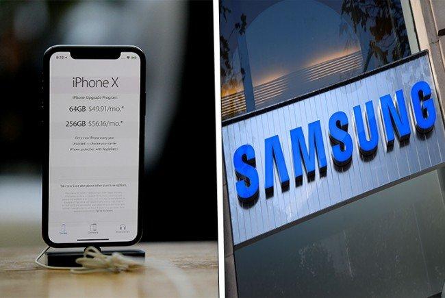 Wegen schwächelnder Nachfrage für das iPhone X, das über 1.000 Euro kostet.