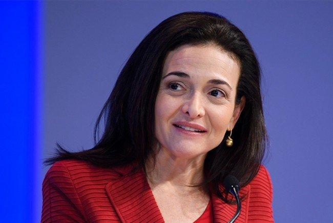 Sheryl Sandberg ist COO von Facebook.