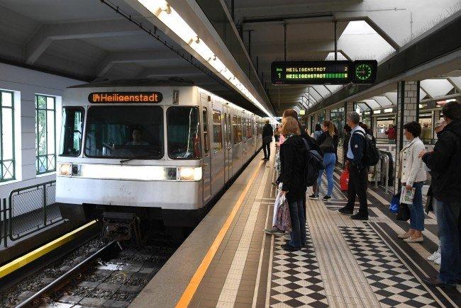 Auf den U-Bahnlinien U6, U4 und U3 kam es heute Vormittag zu Verspätungen.