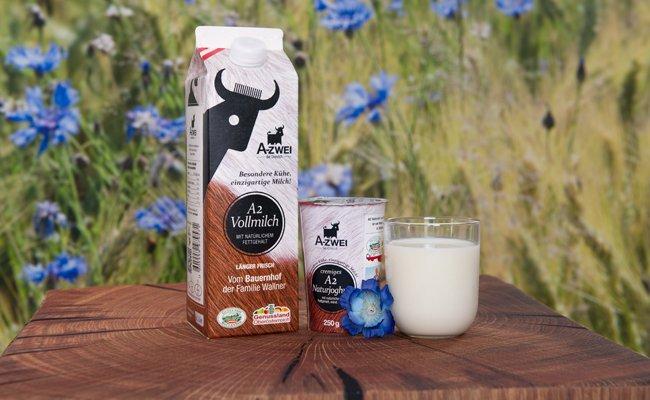 Neu im heimischen Lebensmittelhandel: A2-Milch.