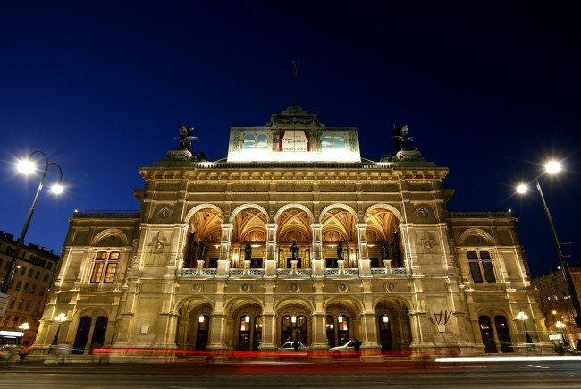 """Auch in der Wiener Staatsoper gibt es eine Gedenkausstellung zum """"Anschluss"""" 1938."""