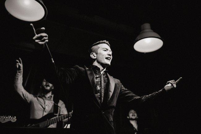 Vincent Bueno stellte sein nun bereits drittes Album vor.