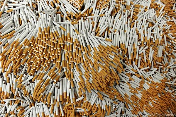 Rund 62.000 Stück Zigaretten wurden sichergestellt