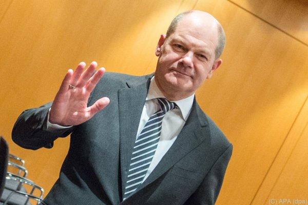 Olaf Scholz soll Finanzminister werden