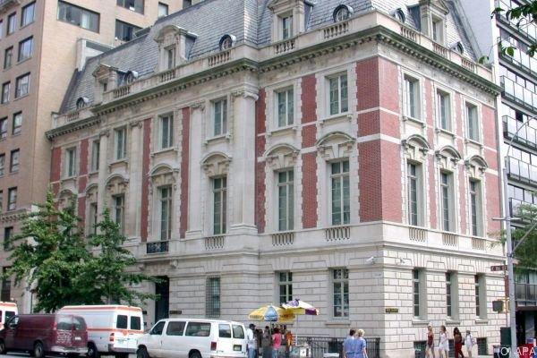Die Neue Galerie liegt am Rande des Central Parks