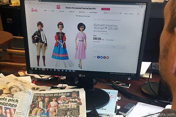 """Frida-Kahlo-Puppe als Teil von Serie """"inspirierender Frauen"""""""