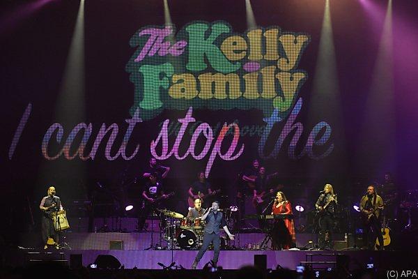 Die Kellys zu Gast in Wien