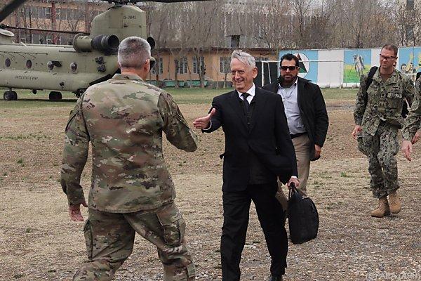 Der US-Minister traf überraschend in Afghanistan ein