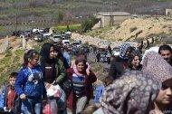 Laut Aktivisten 150.000 Zivilisten aus Afrin geflüchtet