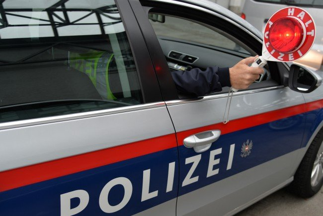 Der Lenker wollte sich einer fremdenpolizeilichen Anhaltung entziehen.