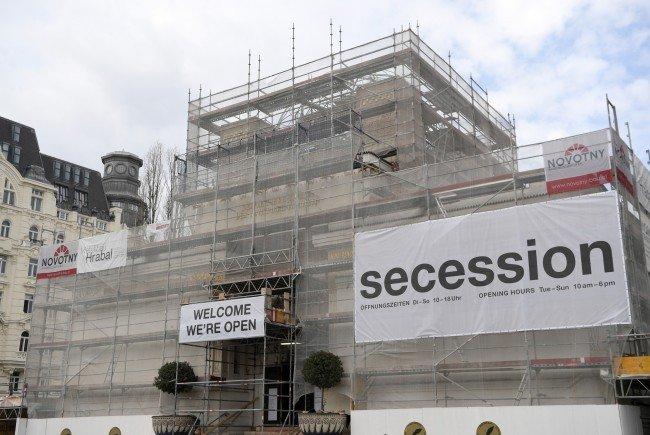 Die Sanierung der Wiener Secession wird teurer als geplant.