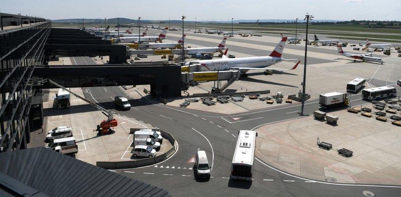 Einbrecher am Flughafen Wien ertappt