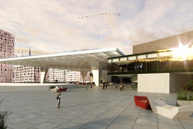 neuer look f r austria center vienna kostet 32 millionen euro vienna online. Black Bedroom Furniture Sets. Home Design Ideas