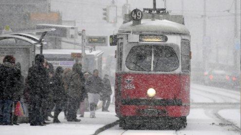 Das Wetter am Wochenende: Tief bringt Schneefall bis nach Wien