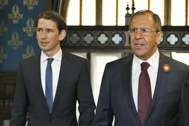 Russlands Außenminister Lawrow.