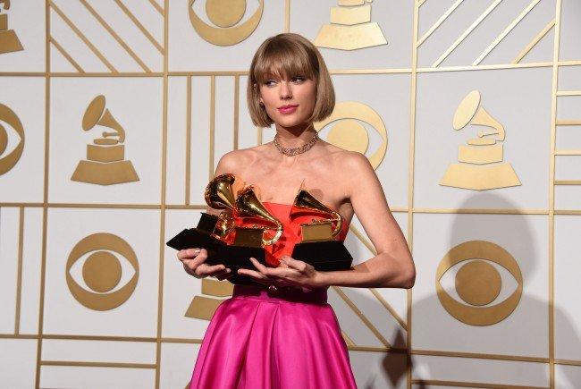 Taylor Swift wird als Wachsfigur in Madame Tussauds im Wiener Prater ausgestellt.