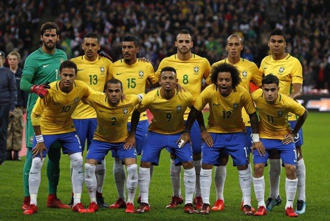 Die Brasilianer testen in Wien