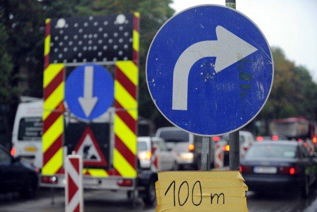 Mit einer Baustelle auf der Währinger Straße ist ab Montag zu rechnen