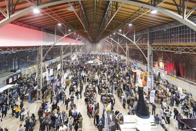Das Craft Bier Fest 2018 lädt in die Marx Halle