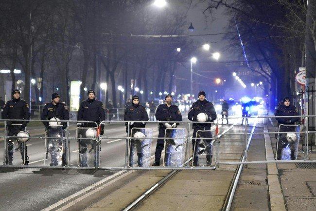 Bei der Demonstration in Wien am Samstag nahmen rund 3400 Personen teil