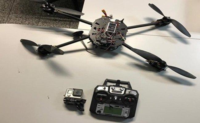 Diese Drohne stürzte in Simmering ab