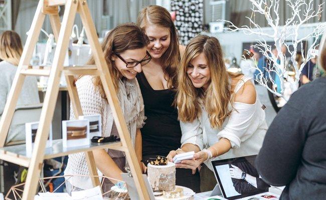Die Marx Halle wird am Wochenende zum Shopping-Erlebnis beim Edelstoff Designmarkt