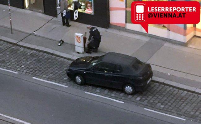 Die Polizei rückte wegen eines herrenlosen Koffers aus