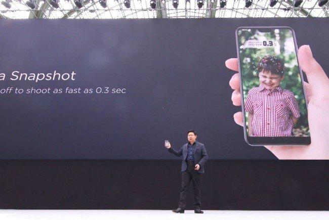 Die Chinesen von Huawei stellen ihre neue P-Serie-Smartphones in Paris vor.