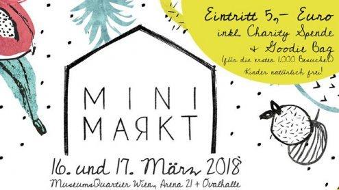 """Mini Markt im Wiener MQ unter dem Moto """"Freche Früchtchen"""""""