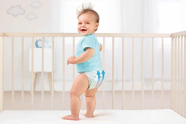 Die neue Pampers Baby-Dry mit Luftkanaltechnologie