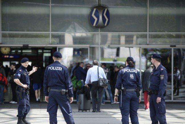 Die Polizei führte eine Schwerpunktaktion am Praterstern durch
