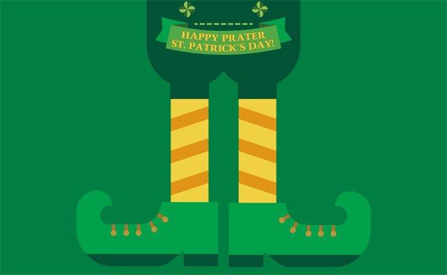Spaß ist beim St. Patrick's Day im Wiener Prater fast schon garantiert