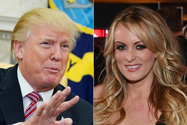 Trump gegen Pornostar Stormy Daniels.