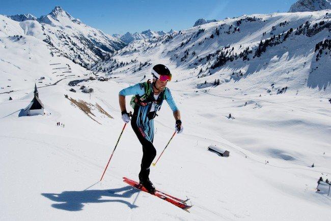Daniel Zugg am Arlberg nicht zu stoppen