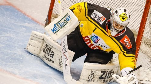 Capitals kassierten erste Play-Off-Niederlage in Innsbruck