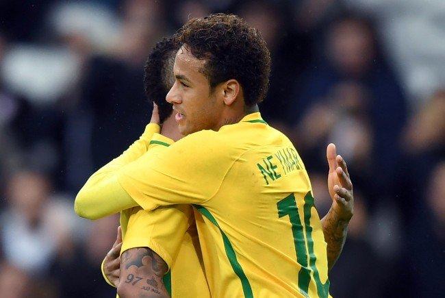 Gerüchte lassen auf ein Fußball-Testspiel zwischen Österreich und Brasilien hoffen.