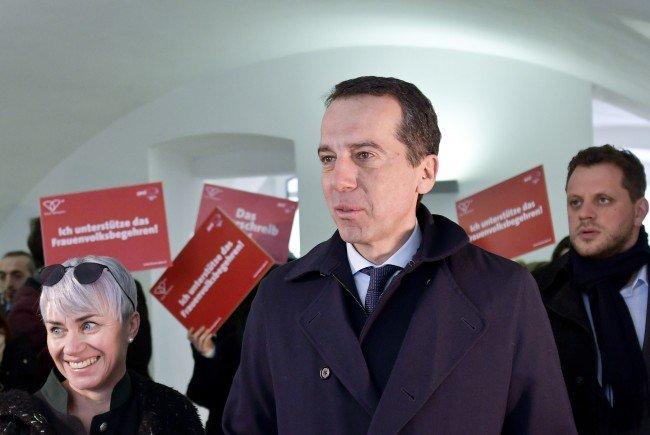 SPÖ_Chef Christian Kern fordert einen Familienbonus von 1.500 Euro pro Kind.