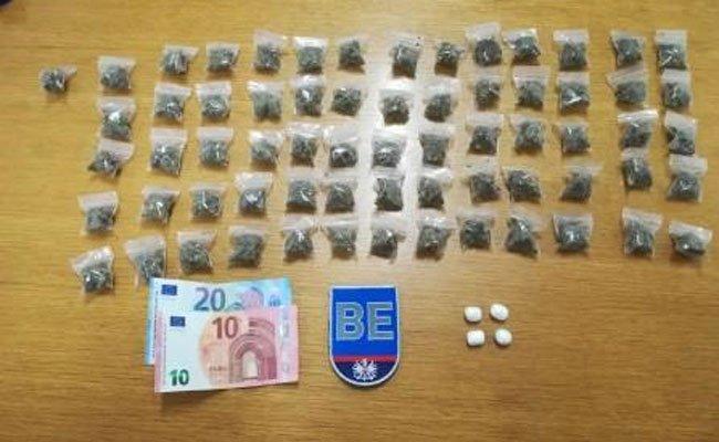 Die Drogen wurden sichergestellt, die Männer auf freiem Fuß angezeigt.