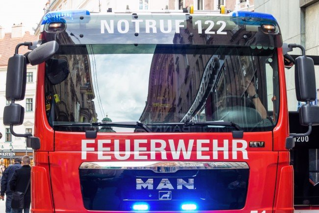 Der Brand wurde von der Wiener Feuerwehr gelöscht.