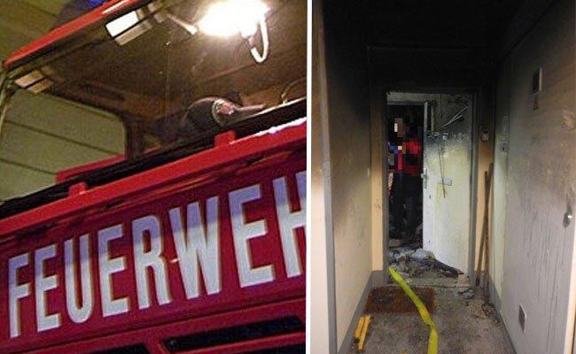 Eine Frau kam bei dem Brand in Wien-Meidling ums Leben.