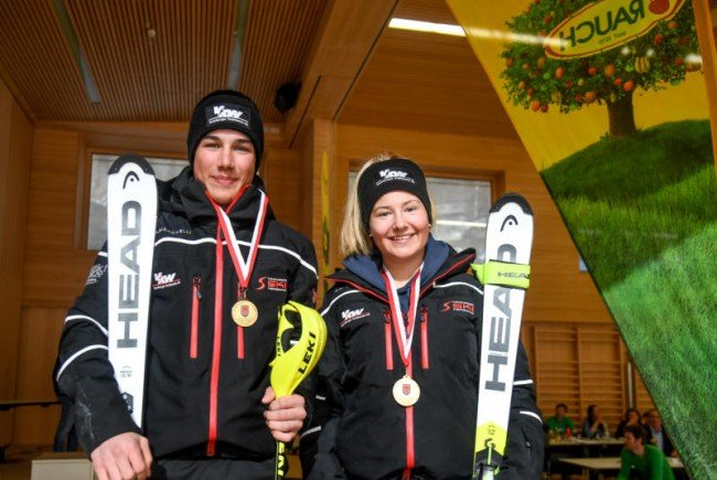 Jakob Greber und Amanda Salzgeber