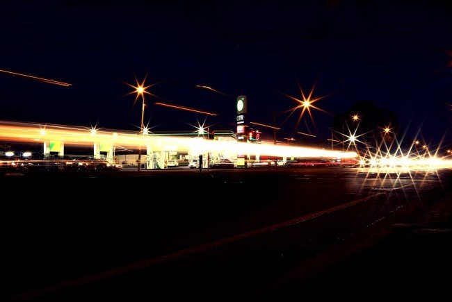 In Wien-Simmering wurde eine Tankstelle überfallen.