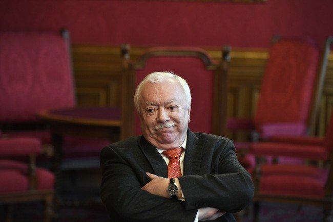 Wiens Bürgermeister Häupl ist über die Pläne der Soros-Universität erfreut.