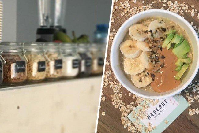 Die Haferei ist das erste Porridge-Lökal in Wien.
