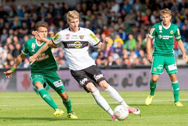 Hier sehen Sie das Match zwischen Altach und Rapid Wien im Live-Stream und im TV.