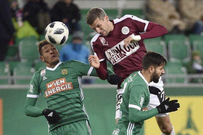 Hier sehen Sie das Match zwischen Mattersburg und Rapid Wien live im TV.